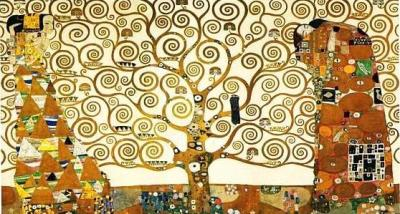 art-library:  Gustav Klimt, The Tree of Life, Stoclet Frieze, 1909.