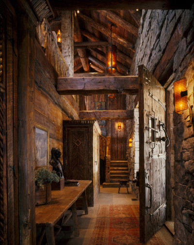 georgianadesign:  Montana entry hall by Peace Design.