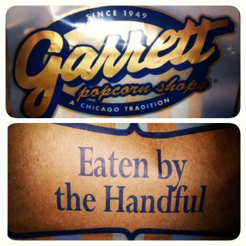 Dinner for Aca and Oli (at Garrett Popcorn Shops)
