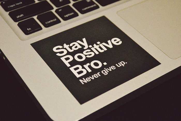 staypozitive:  Get your stickers here: Stay Positive Bro