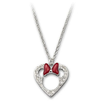 disneytrinkets:  Swarovski Disney Minnie Mouse Pendant