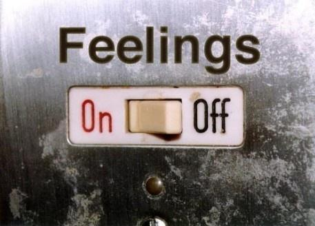 A off button for your feelings.