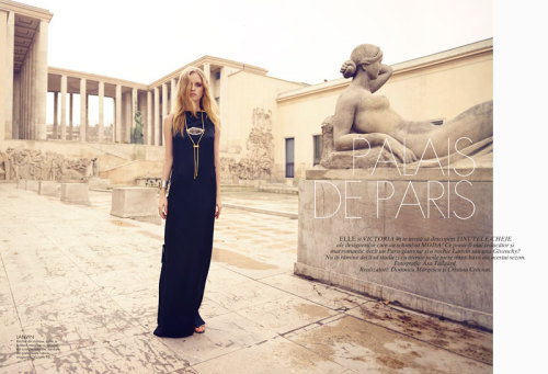 """Palais de Paris"" (+) Elle Romania, April 2013 photographer: Asa Tallgard Eva Downey"