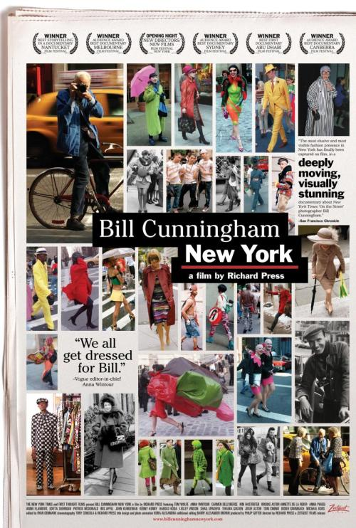 """Bill Cunningham New York"" (Richard Press, 2010)"