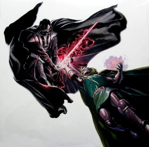Vader vs. Doom by Alex Ross