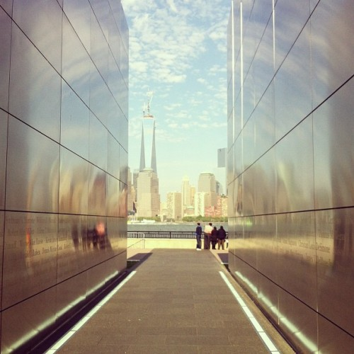 New Jersey 9/11 Memorial #nyc #nj #newjersey #newyork