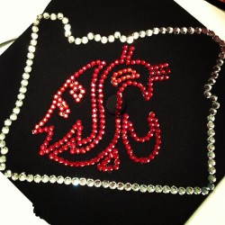 It's done!!! #graduation #oregon #gocougs #wsu #pullman #cap #graduationcap