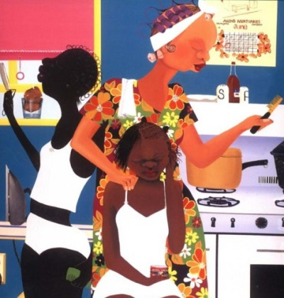 heathershotyou:  Varnette Honeywood, Come into my kitchen   Dope