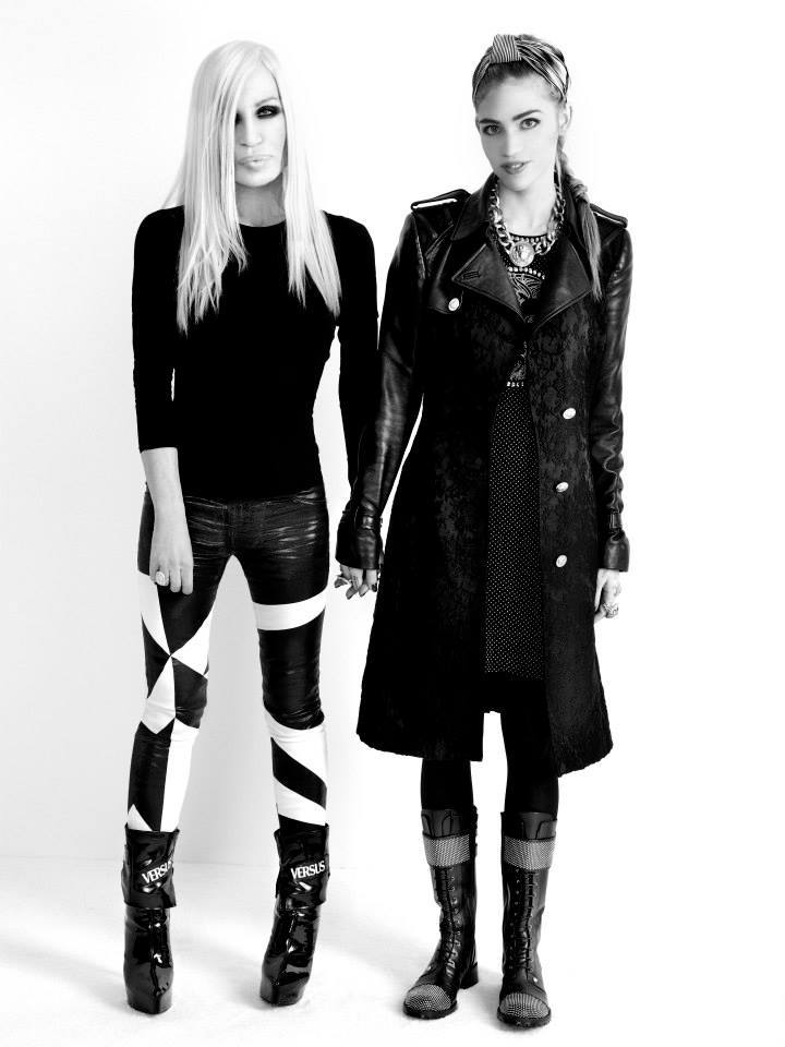 j-levi:  Donatella and Grimes in Versus