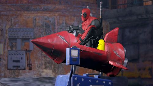 final-five:  More New Deadpool Images and Artwork Looks like Cable and Death are going to be in the game, cool. -AlucardVK