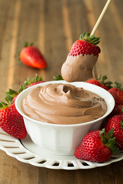 thecakebar:  Four Ingredient Nutella Cheesecake Dip