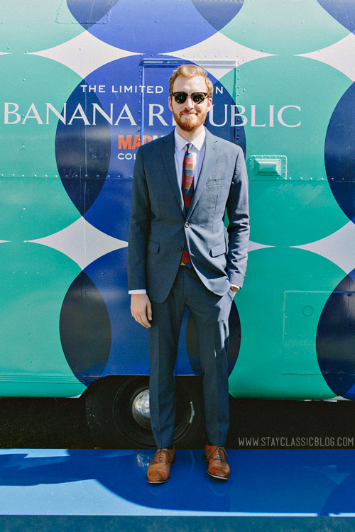 Just me from the Banana Republic Mad Men launch. Jacket & Pants | Shirt | Shoes | Tie | | Belt |Sunglasses
