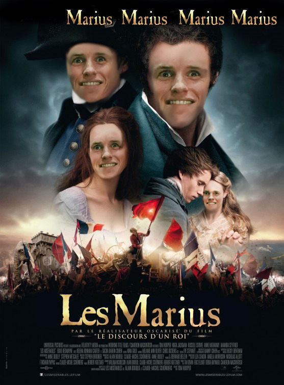 lolzpicx:  Who doesn't love Marius?