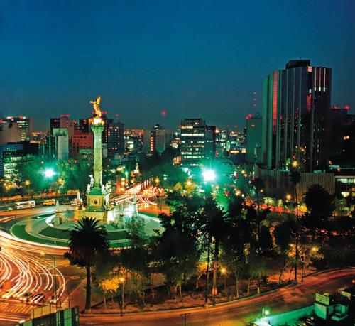 Mexico city, night