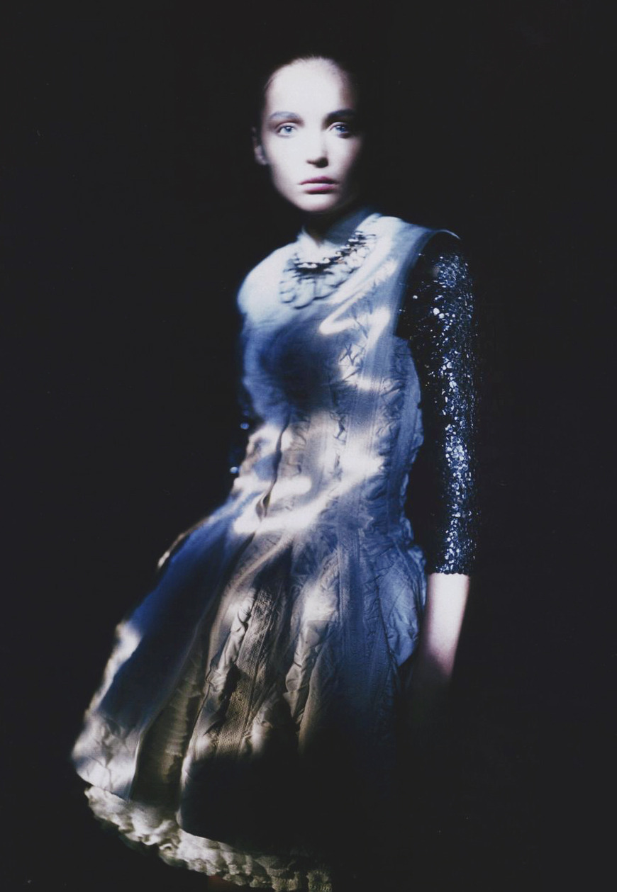 Snejana Onopka/Vogue Japan June 2008 Photographed by Paolo Roversi