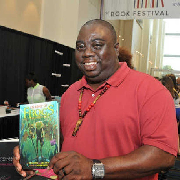 My picture made the news today out at the SC Book Festival. And my baby is in the background finding one to read.