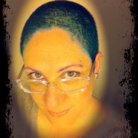 """my teal buzz cut ;)"" Fun! Thanks for sharing!"