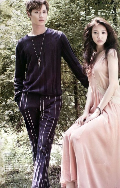 HQ Scans] Taemin & Naeun @ We Got Married Photoshoot   Shinee Generation