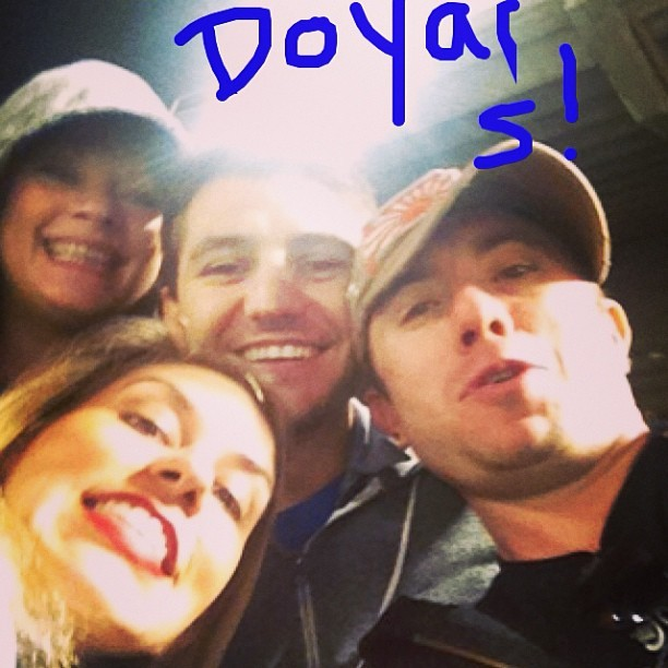 Go Doyars!! @joshyness @trishalee_w @thelavirgin  (at Dodger Stadium)