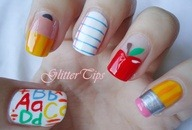 school nails Details at http://bit.ly/12n5pjP
