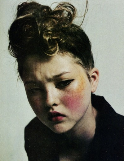 michaelfaudet:  Devon Aoki by Mario Sorrenti