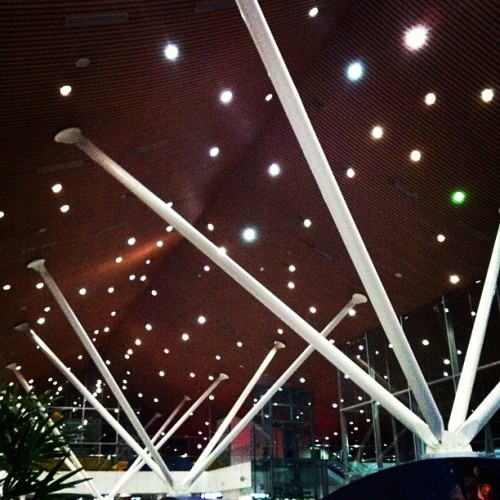 Twinkle twinkle ✨✨✨ #CatchTheLight #klia #malaysia  (at Gate 25 KLIA)