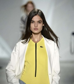 m nyfw 2015 spring summer Lacoste