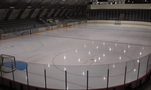 daily-sports:  Love being the first one at the rink.