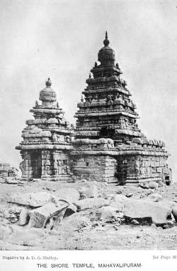 archimaps:  The Shore Temple, Mahavalipuram