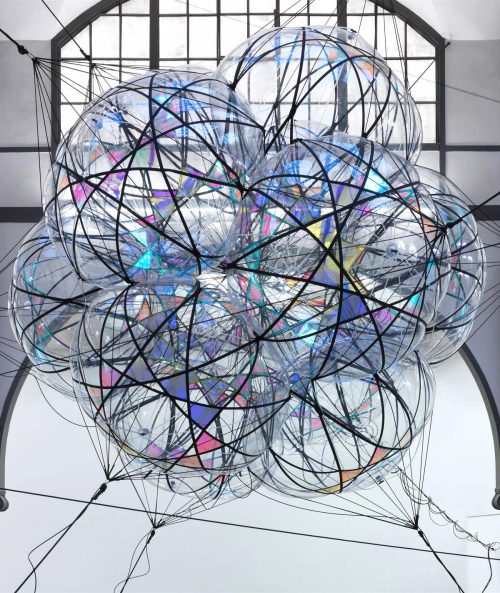 artruby:  Tomas Saraceno, Cloud Cities, (2011).   I want this in my living room, never mind that it would fill it up completely.