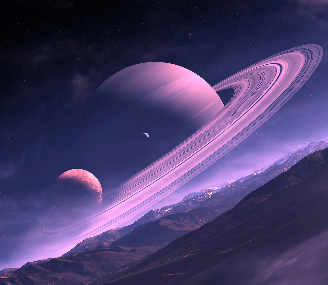 pyrrhic-victoria:  Dream of Saturn by *QAUZ