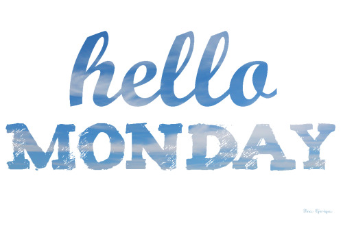 blogmodainfantil:  Hello Monday!