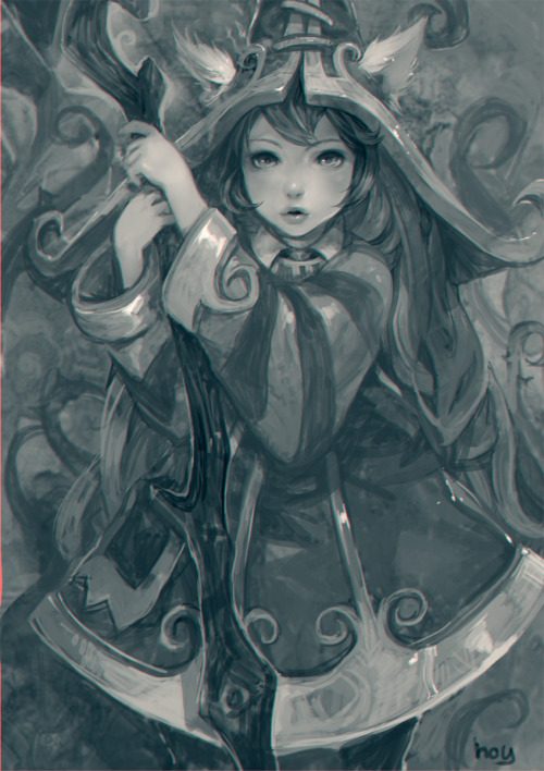 varda:  Lulu : league of legend fanart by *hoyhoykung