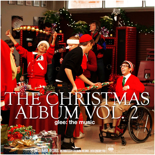 Glee: The Music, The Christmas Album Vol. 2 Alternative Album Cover