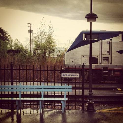 To nyc please (at Hudson Amtrak Station (HUD))