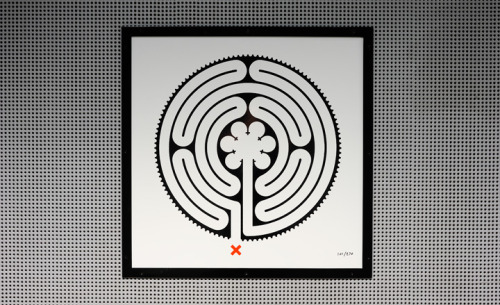 Mark Wallinger's 'Labyrinth' artworks for the London Underground