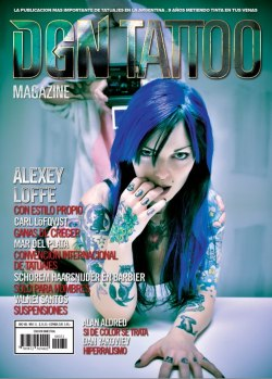 new cover for DGN TATTOO Magazine  PH: simone Angarano  Bunny : Jobinsky JJ