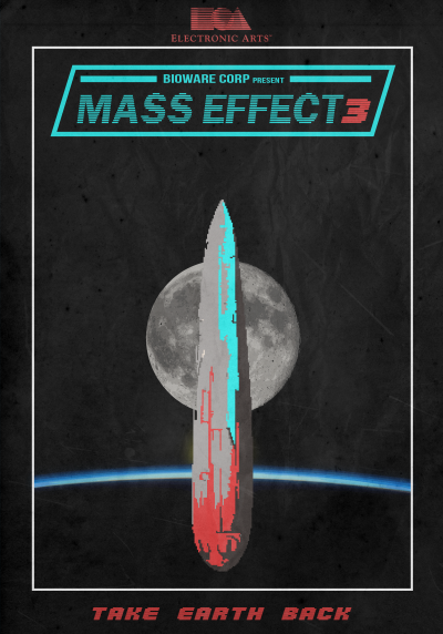 geeksngamers:  Vintage Mass Effect 3 Design - by Jeremy Romand