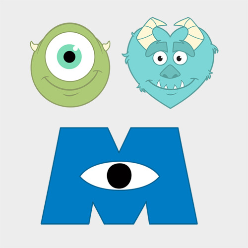 whalejail:  Eye Heart Monsters, Inc.