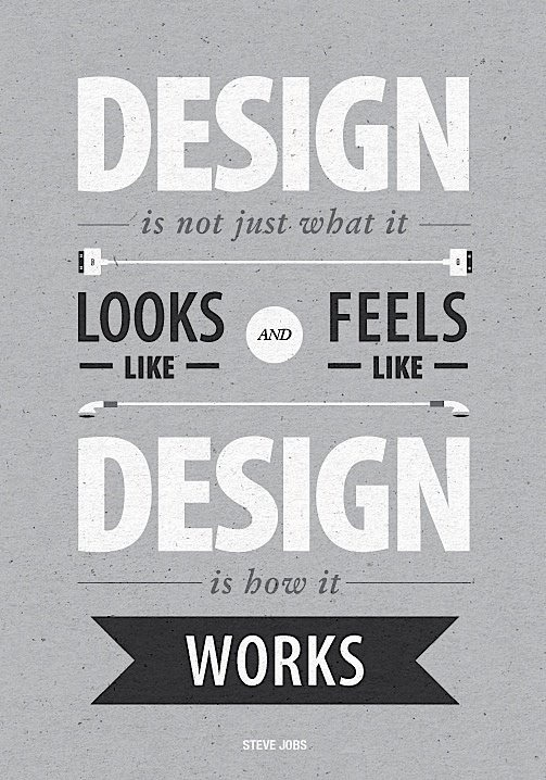type-lover:  Steve Jobs citation