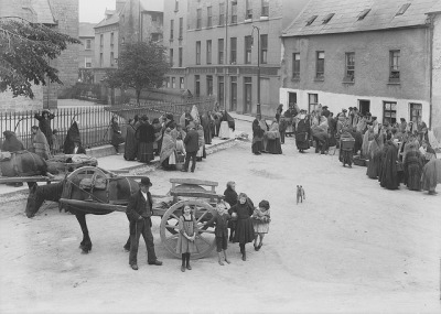 Egg and Fowl Market, Galway by National Library of Ireland on The Commons on Flickr.