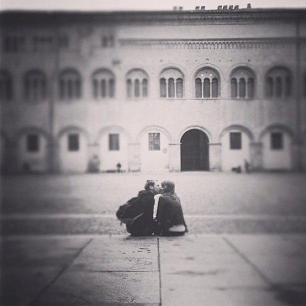 Regram from my bro. @keeleysheppard and I being all soppy in Italy <3