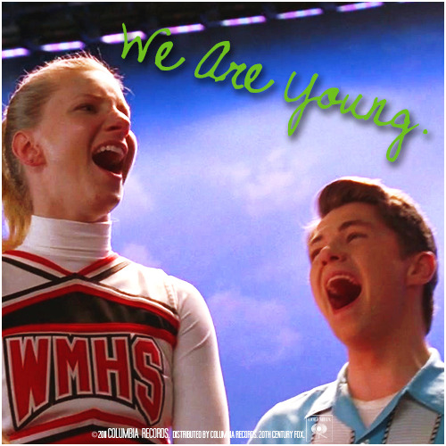 3x08 Hold On To Sixteen | We Are Young Requested Alternative Cover