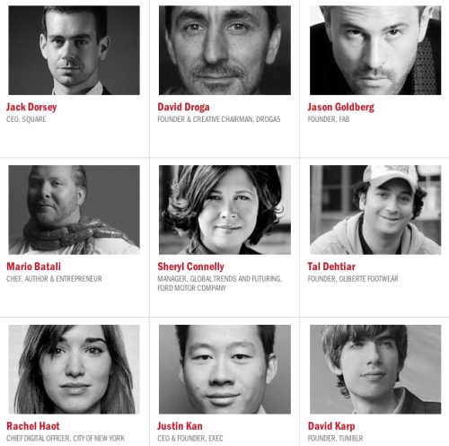 These are only some of the innovative people that will be speaking at Fast Company's Innovation Uncensored this year. See who else is speaking here! For updates and more follow #IUNY13 on Twitter.