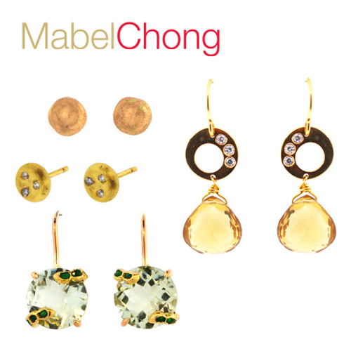 Ooooh… some additions to the Mabel Chong fine jewelry range. Solid 14K gold and diamonds abound in these handcrafted, creative pieces, so get yourself over to the website for a closer look!Mabel xoxo