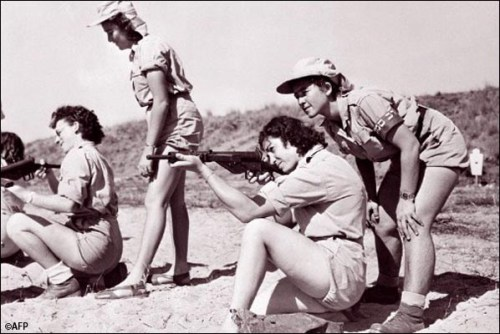 noxe:  Training of Haganah Women in '48