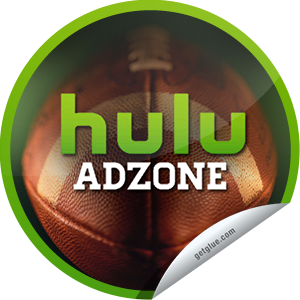 I just unlocked the Hulu AdZone sticker on GetGlue                      31931 others have also unlocked the Hulu AdZone sticker on GetGlue.com                  Catch the best ads from The Big Game on Hulu's Toyota-sponsored AdZone. You just unlocked a free month of Hulu Plus! Be sure to check your email in a few days for the redemption code. Share this one proudly. It's from our friends at Hulu.