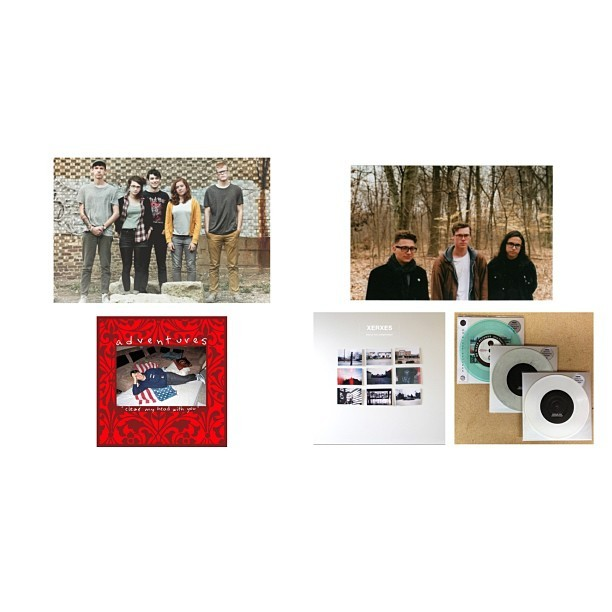 "New 7""s announced for #xerxes #wouldyouunderstand? and #adventures #clearmyheadwithyou /// both out June 18th on @nosleeprecords /// new songs for both up now at @brooklynvegan (at No Sleep HQ)"