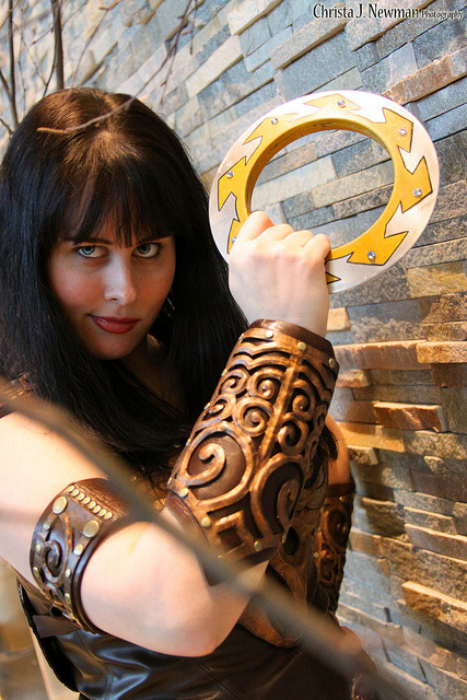 Xena- Arisia 2013 by the_wendy_bird on Flickr.Xena Cosplayer!