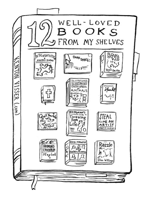 "Super List Saturday, April 13, 2013: 12 Well-Loved Books From My Shelves. This isn't meant as a definite list of my favorite books, or books I consider to be ""best"" books, but out of all the books I own, they are certainly important to me. For better or for worse, they have all shaped me as a person."